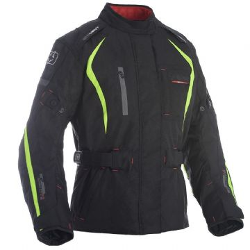 Oxford Dakota Women's Waterproof Textile Motorcycle Jacket Fluo All Sizes